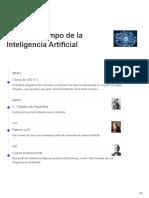 Linea Del Tiempo de La Inteligencia Artificial