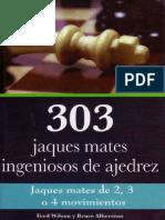 Albertson Bruce & Wilson Fred - 303 jaques mates de ajedrez, 2011-OCR, Exe, 212p.pdf