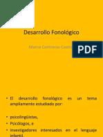 Desarrollo Fonológico