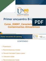 Presentación Primer Encuentro B-Learning