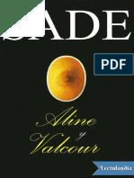 Aline y Valcour - Marques de Sade