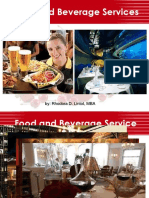 Introduction to Food and Beverage Services