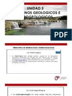 Semana 10,11,12 Fenómenos Geológicos e Hidrodinamicos