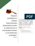 Derechos Humanos y Sociedad Peruana