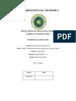 Microbiologia-siembra e Identificación de Microorganismos en Jugos de Frutas