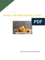 Productos derivados de la miel