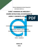Curso Avanzado de Análisis y Diseño Estructural de Edificios de Acero y Concreto Utilizando Etabs 2015