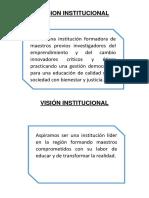 Mision Vision DEL ISPP SANTA CRUZ
