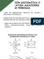 Designacion de Aleaciones Nf