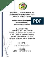 REDES - Direcciones IPV4