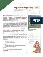 Formas de Organizacion Politica