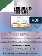 Los Referentes Textuales