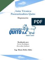 Visita Pasteurizadora