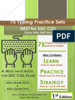 CPT Exercises for CGL