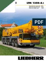 Liebherr Product Advantage Mobile Crane 180 Ltm 1350-6-1 Pn 180 00 s08 2011