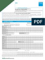 SGP Generic Claim Form