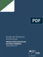 Audiovisual Produccion Otros Formatos