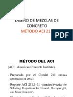 17. Diseño de Mezclas - Método ACI (1)