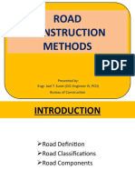 Road Const Methods