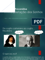 A Interpretação Dos Sonhos - Aula 1 - Prof. Psicanalista Claudio Marcio