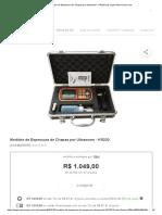 Medidor de Espessura de Chapas Por Ultrassom - KR220 Nas Lojas Americanas.com