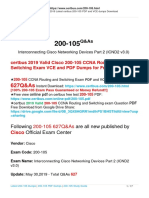 Cisco 200-105 Certification Study Guide and Preparation Materials