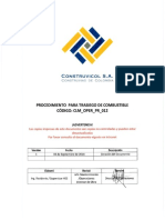 CLM OPER PR 012 Proced Trasiego Combustible Rev1