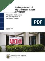 State Audit of Civil Asset Forfeiture Program