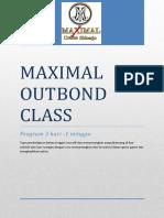05 MaximalOutbond Class