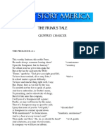 Chaucer Ct Friars Tale