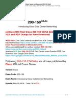 Certbus New Updated 200-150 Exam Dumps Free Download