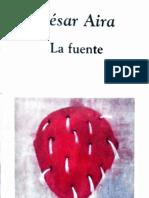 La Fuente. César Aira