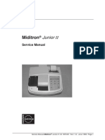 Manual de servicio del Miditron Junior
