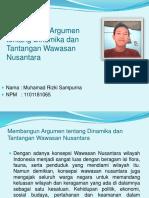 Membangun Argumen tentang Dinamika dan Tantangan Wawasan Nusantara.pptx
