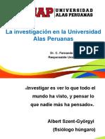 Investigación en La UAP