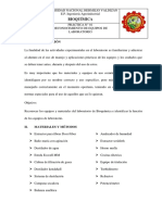 Bioquímica- instrumentos de laboratorio.