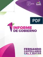 Informe de Gobierno Tuxtla