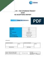 [Slz Sparrow] Lte Fdd Goaf Ssv Acceptance Reportfailed