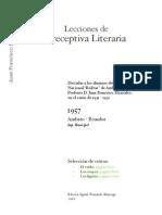 Lecciones de Preceptiva Literaria Por J F Montalvo
