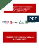 Mitigación del conflicto - I.E.