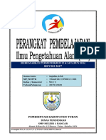 Perangkat IPA K13SMP  Kls 7 Sem 1 T.P.2019-2020