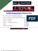 Sjg6533 - Gurps 3e - Sourcebook - Shapeshifters