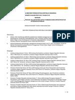 Permen PERIN No 54 M-InD PER 32 2012 Tentang Pedoman Penggunaan Produk Dalam Negeri Untuk Pembangunan Infrastruktur Ketenagalistrikan