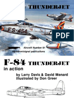 Squadron Signal - Aircraft - In Action - 1061 - Republic F-84 Thunderjet