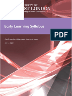 LCM Early Learning Syllabus