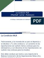 Marshall-Lerner y Curva J