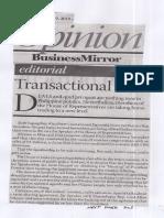 Business Mirror, July 9, 2019, Transactional.pdf