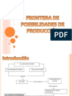 Fronteras de Posibilidades de Producción
