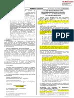 Ley Nº 30937 Ley-que-modifica-la-ley-27972, Respecto a Municipalidades de CC. PP.