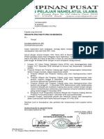 Surat edaran kongres